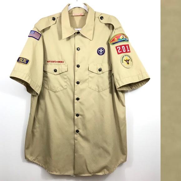 Official SCOUTING Uniform BLOUSE ALL SIZES SCOUT UNIFORM SMART SHIRT